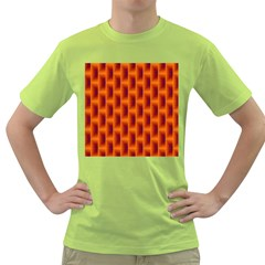 Fractal Multicolored Background Green T Shirt