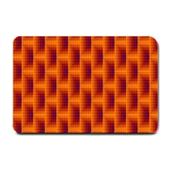 Fractal Multicolored Background Small Doormat
