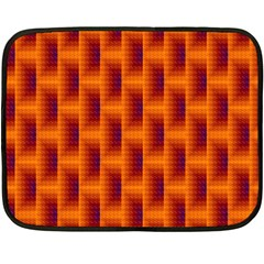 Fractal Multicolored Background Fleece Blanket (mini)
