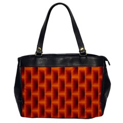 Fractal Multicolored Background Office Handbags