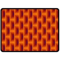 Fractal Multicolored Background Fleece Blanket (large)