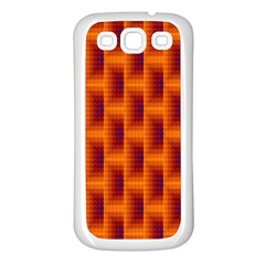 Fractal Multicolored Background Samsung Galaxy S3 Back Case (white)