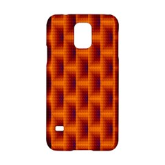 Fractal Multicolored Background Samsung Galaxy S5 Hardshell Case