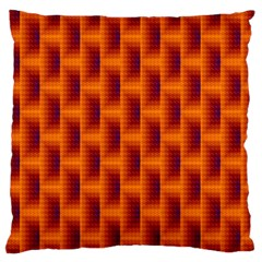 Fractal Multicolored Background Large Flano Cushion Case (two Sides)