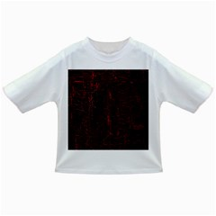 Black And Red Background Infant/toddler T Shirts