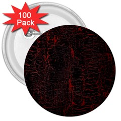 Black And Red Background 3  Buttons (100 Pack)