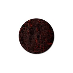 Black And Red Background Golf Ball Marker