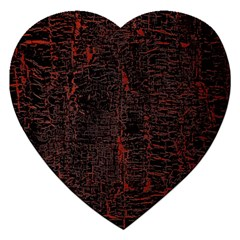 Black And Red Background Jigsaw Puzzle (heart)