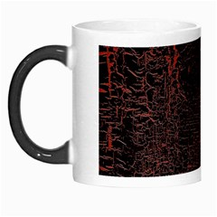 Black And Red Background Morph Mugs
