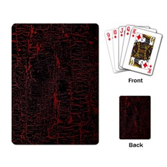 Black And Red Background Playing Card