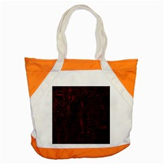 Black And Red Background Accent Tote Bag