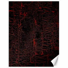 Black And Red Background Canvas 18  X 24