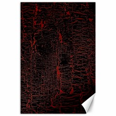 Black And Red Background Canvas 24  X 36