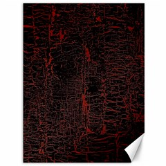 Black And Red Background Canvas 36  x 48