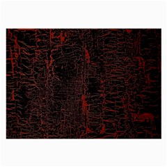 Black And Red Background Large Glasses Cloth (2 Side)