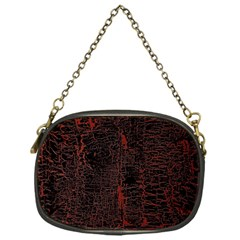 Black And Red Background Chain Purses (one Side)