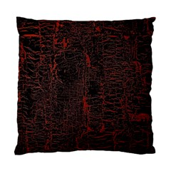 Black And Red Background Standard Cushion Case (Two Sides)