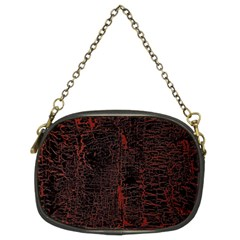 Black And Red Background Chain Purses (Two Sides)