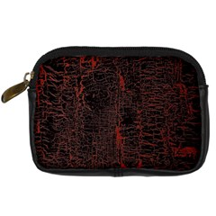 Black And Red Background Digital Camera Cases