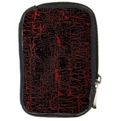 Black And Red Background Compact Camera Cases