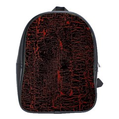 Black And Red Background School Bags(large)