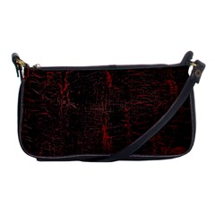 Black And Red Background Shoulder Clutch Bags
