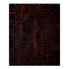 Black And Red Background Shower Curtain 60  X 72  (medium)