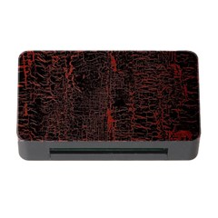 Black And Red Background Memory Card Reader With Cf