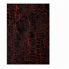 Black And Red Background Large Garden Flag (two Sides)