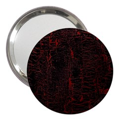 Black And Red Background 3  Handbag Mirrors