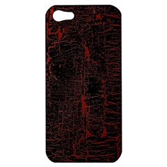 Black And Red Background Apple Iphone 5 Hardshell Case