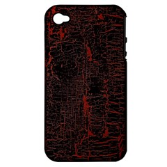 Black And Red Background Apple Iphone 4/4s Hardshell Case (pc+silicone)