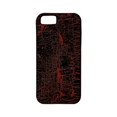 Black And Red Background Apple Iphone 5 Classic Hardshell Case (pc+silicone)