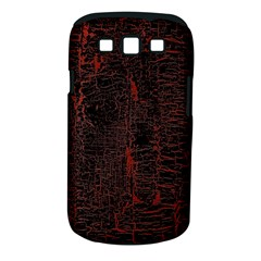 Black And Red Background Samsung Galaxy S III Classic Hardshell Case (PC+Silicone)