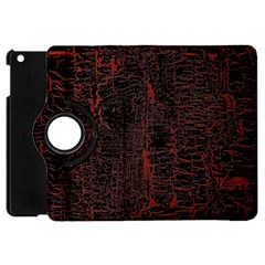 Black And Red Background Apple iPad Mini Flip 360 Case