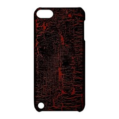 Black And Red Background Apple Ipod Touch 5 Hardshell Case With Stand