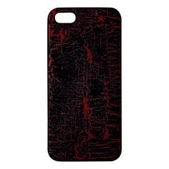 Black And Red Background Apple Iphone 5 Premium Hardshell Case