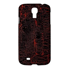 Black And Red Background Samsung Galaxy S4 I9500/i9505 Hardshell Case