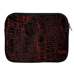 Black And Red Background Apple Ipad 2/3/4 Zipper Cases