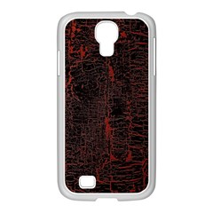 Black And Red Background Samsung Galaxy S4 I9500/ I9505 Case (white)