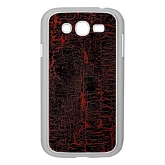 Black And Red Background Samsung Galaxy Grand DUOS I9082 Case (White)