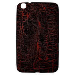 Black And Red Background Samsung Galaxy Tab 3 (8 ) T3100 Hardshell Case