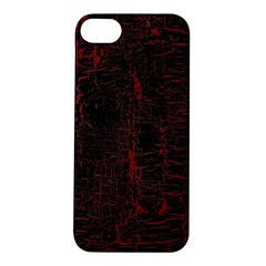 Black And Red Background Apple iPhone 5S/ SE Hardshell Case