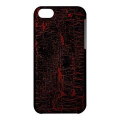 Black And Red Background Apple Iphone 5c Hardshell Case
