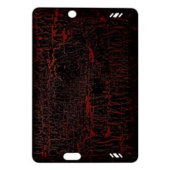 Black And Red Background Amazon Kindle Fire Hd (2013) Hardshell Case