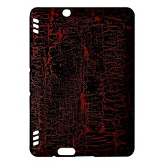 Black And Red Background Kindle Fire Hdx Hardshell Case