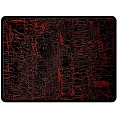 Black And Red Background Double Sided Fleece Blanket (large)