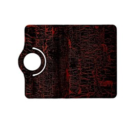 Black And Red Background Kindle Fire Hd (2013) Flip 360 Case