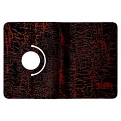 Black And Red Background Kindle Fire Hdx Flip 360 Case