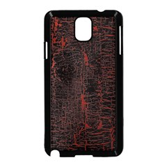 Black And Red Background Samsung Galaxy Note 3 Neo Hardshell Case (black)
